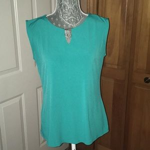 Dana Buchman sleeveless shirt
